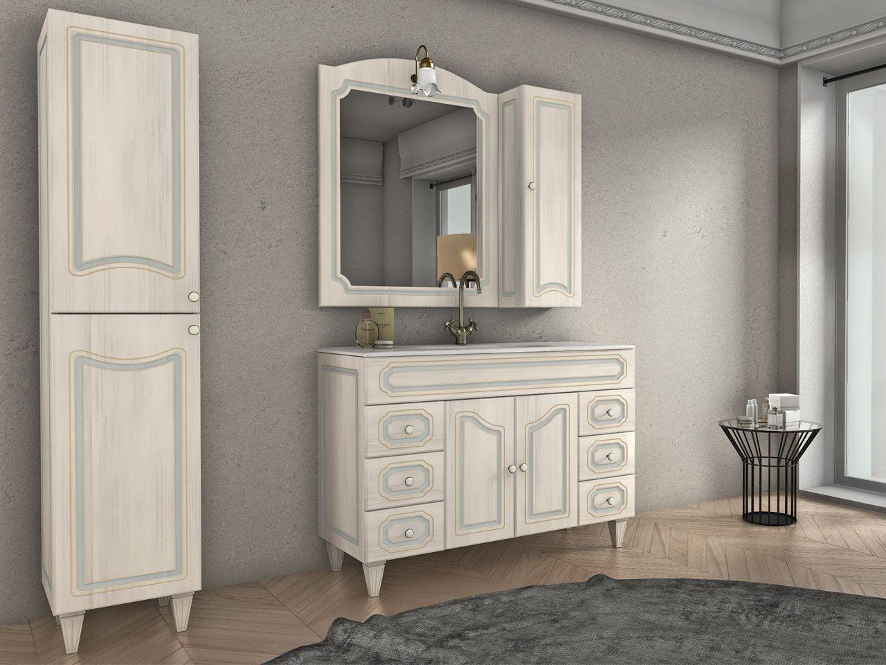 Armadio Bagno ~ Monet base lavabo 120 2a. 6c. decape. venduto da iperceramica