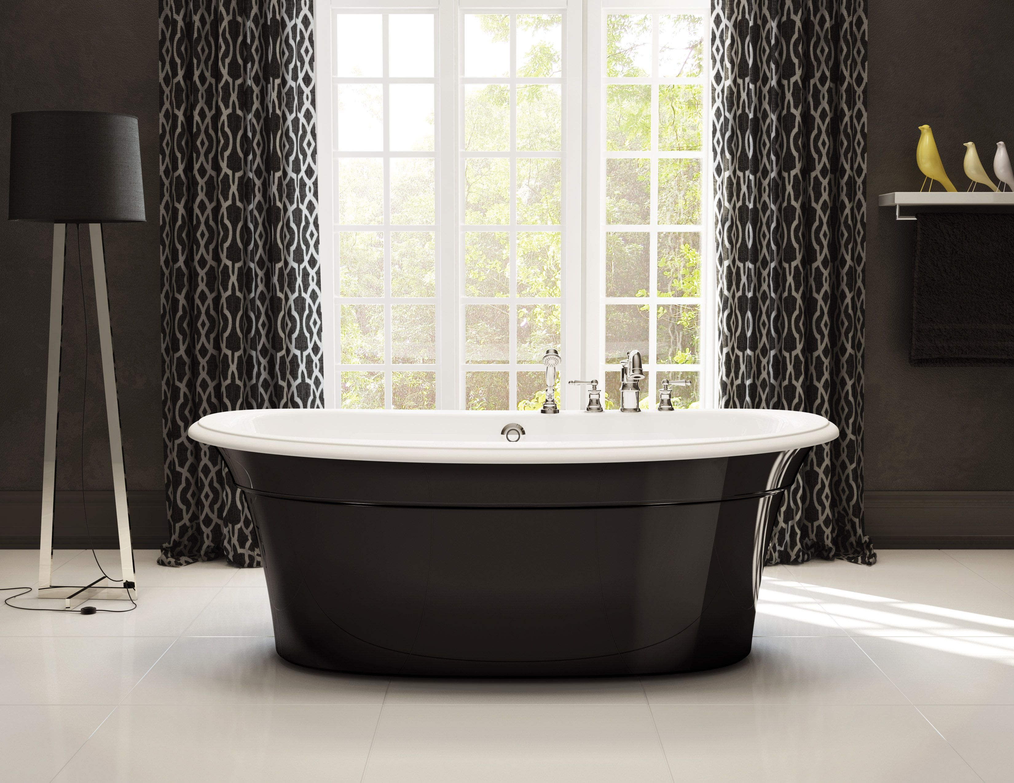 Maax Ella Black Maax Freestandingtub Blacktub With Images