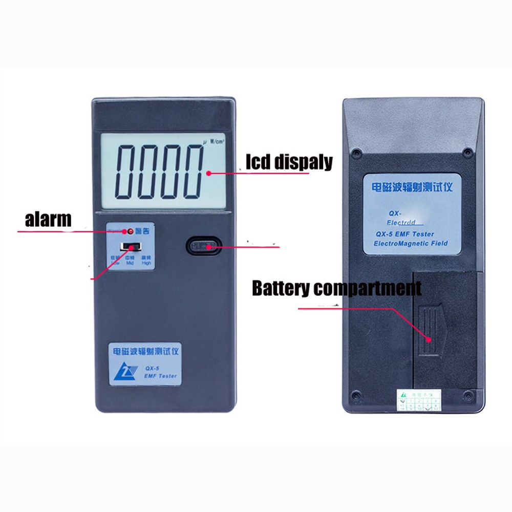QX-5 Electromagnetic Radiation Tester EMF Tester Household Radiation