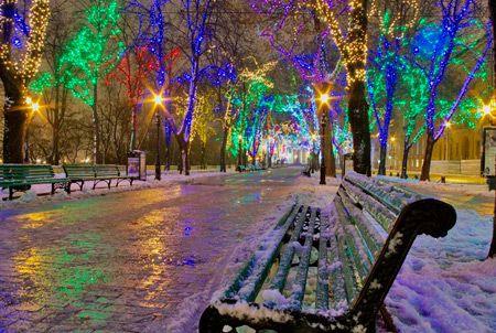 12 Amazing Christmas Lights Around the World - christmas lights