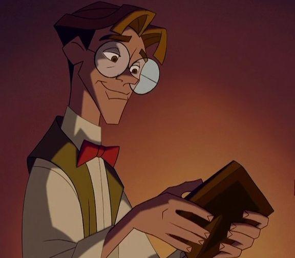 Milo Thatch Atlantis The Lost Empire Disney Men Disney