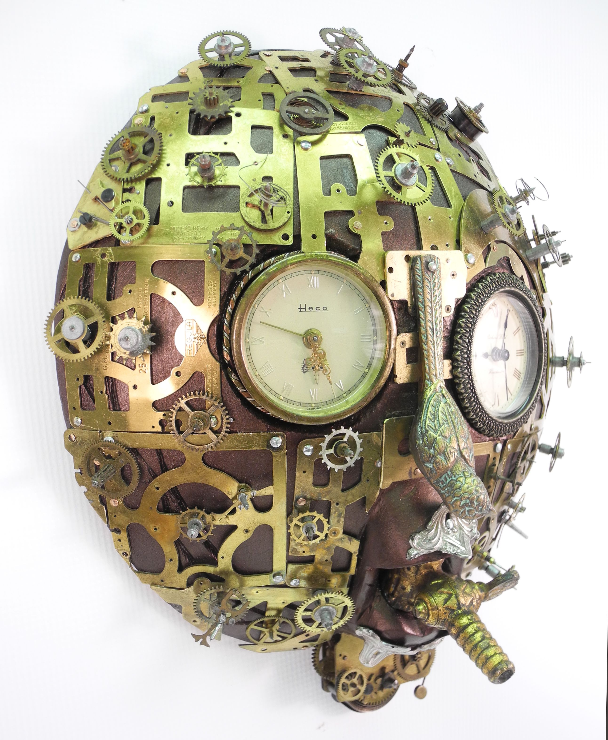 """""""Regulator"""" found object assemblage by Assemblique™"""