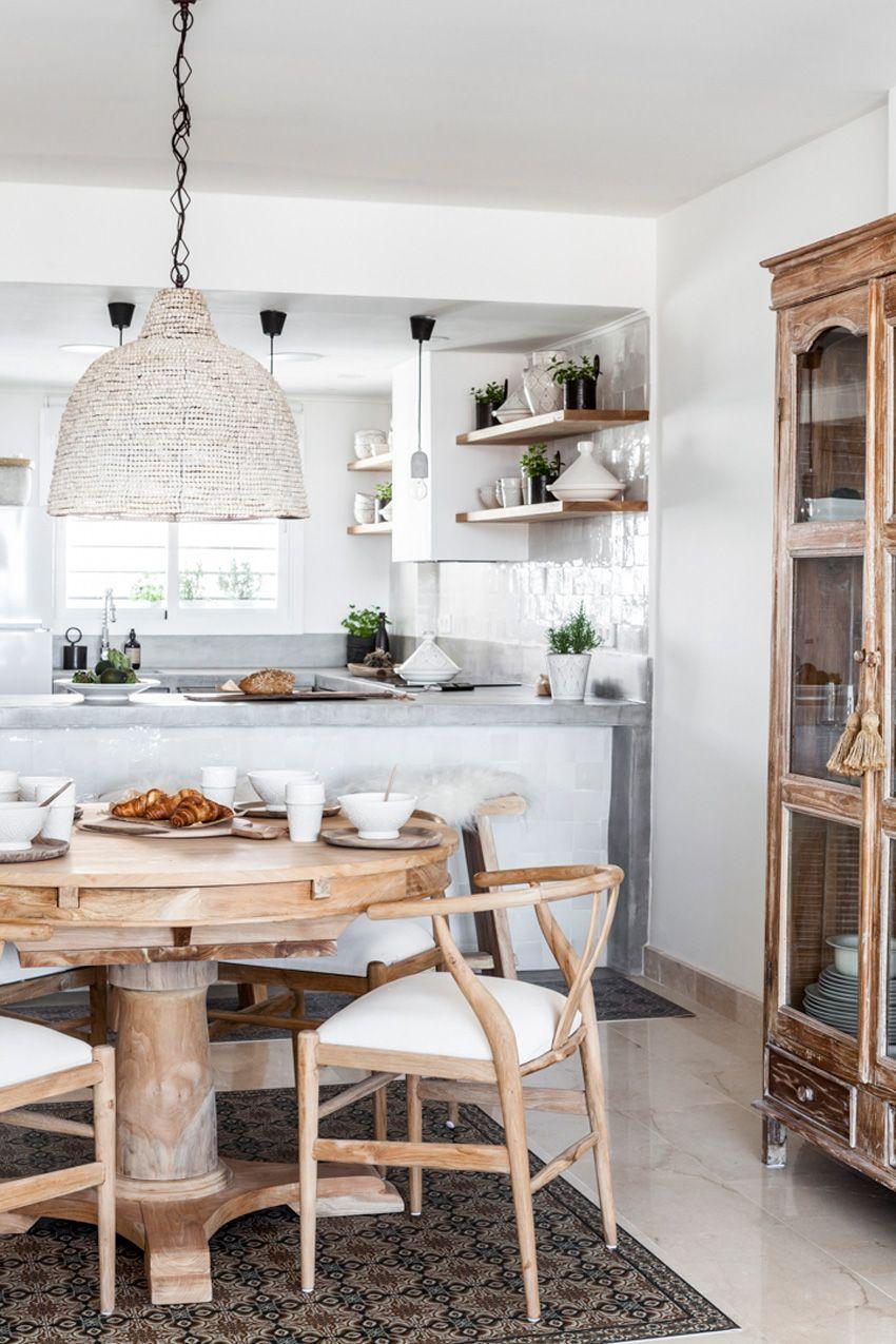 Una Cocina De Obra Abierta Al Salon Blog De Decoracion Diy Ideas Low Cost Para Decorar Tu Cas Cocinas De Obra Diseno Muebles De Cocina Decoracion De Cocina