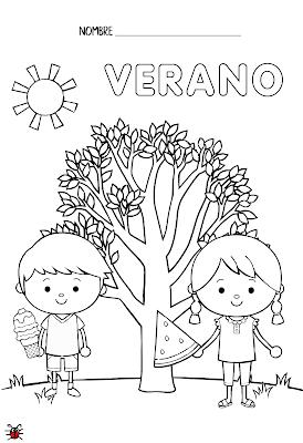 Actividades Para Educacion Infantil Fichas Para Colorear Las Estacion En 2020 Actividades Ludicas Para Ninos Hojas De Ejercicios Para Ninos Imagenes De Las Estaciones
