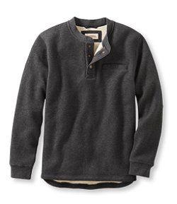 704433f40fc LLBean: Katahdin Iron Works Bonded Waffle Fleece Henley | Shirts ...