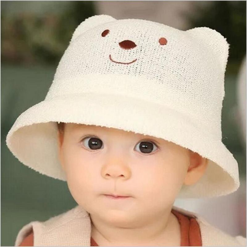 94e3a8d4806 Cat Ears Hat New Summer Style Kids Sun Caps Straw Hat Caps Soild Beach  Lovely Girl