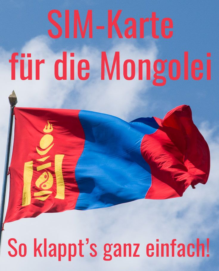 Mobiles Internet Prepaid Sim Karte Fur Die Mongolei Mongolei
