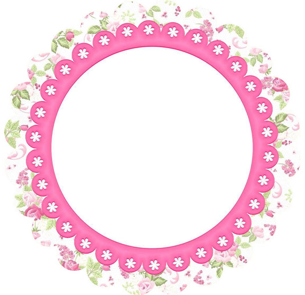 Flores: Marcos, Toppers o Etiquetas para Imprimir Gratis. | Topper ...