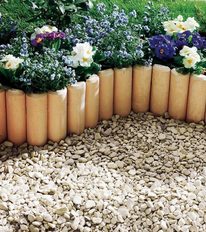 #Idée #déco pour votre #jardin !   Découvrez la #bordure #pierrereconstituée…