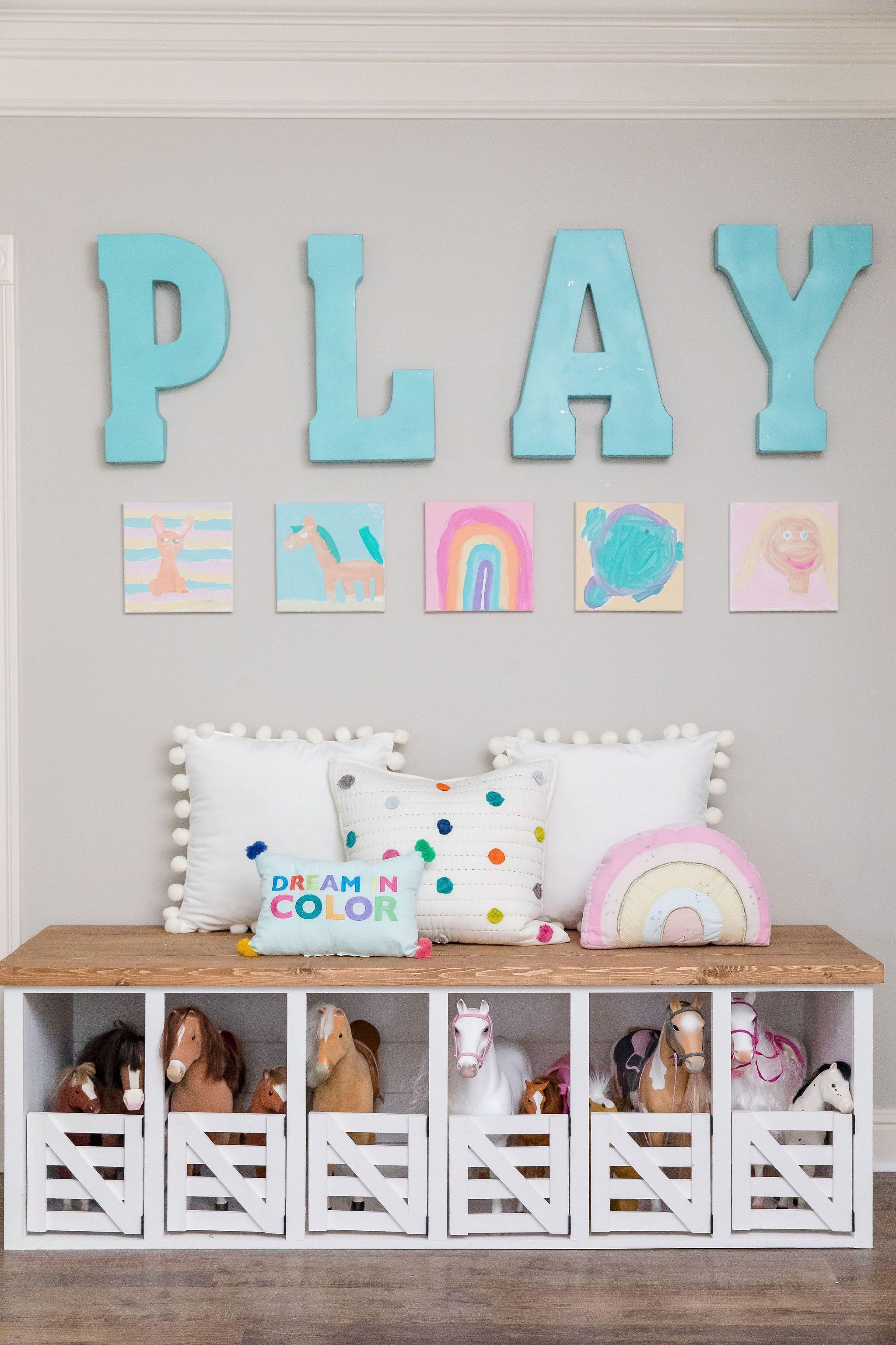 Whimsical Playroom and Kids Lounge Makeover — Jenny Reimold