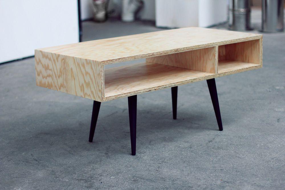 caisson en contreplaqué pin 21 mm, finition vernis pieds en hêtre - vernir un meuble peint