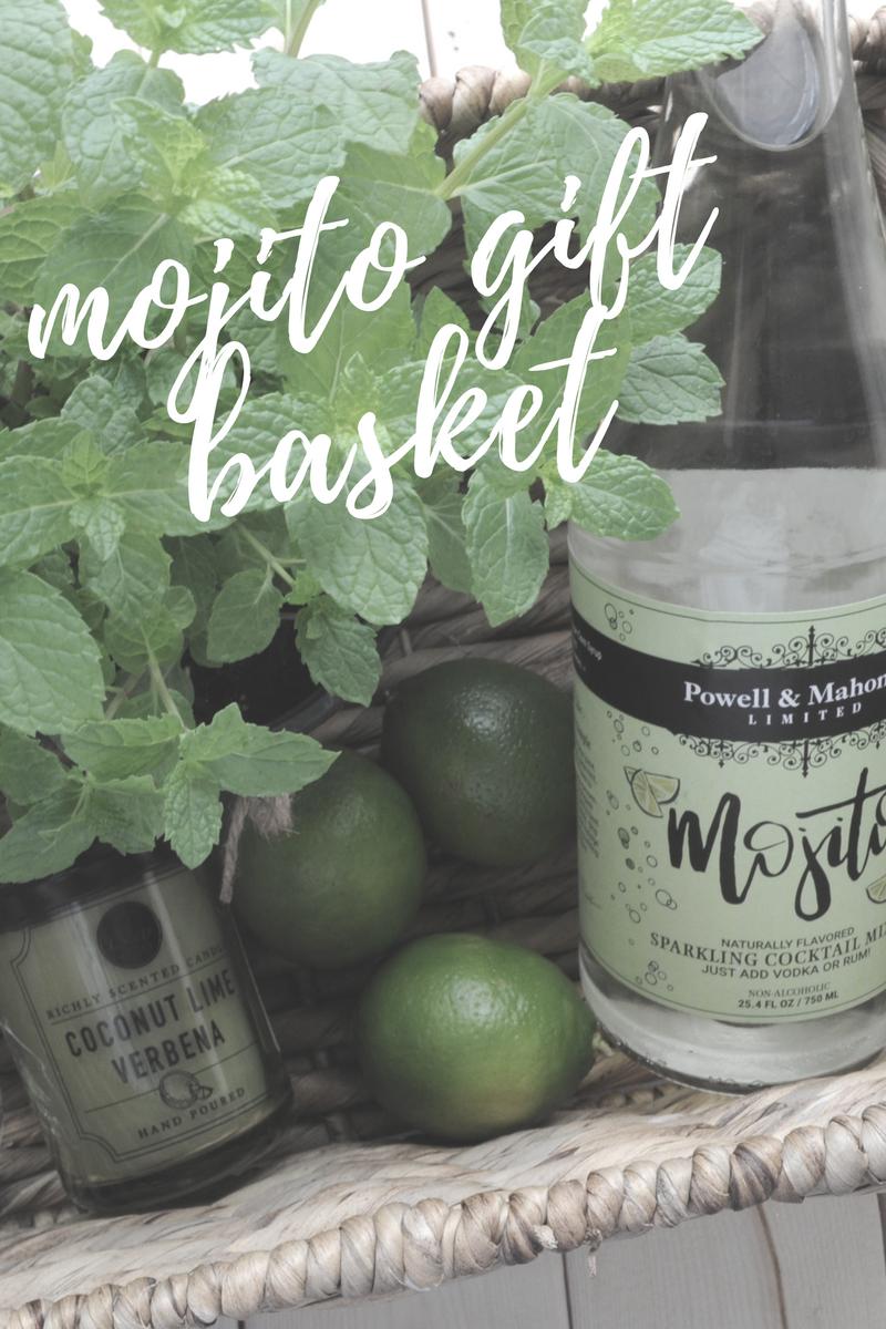 Diy Mojito Gift Basket Gift Baskets Cocktail Gift Basket Cocktail Gifts