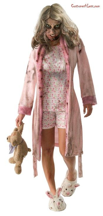 The Walking Dead , Pajama Zombie Adult Costume , idea for