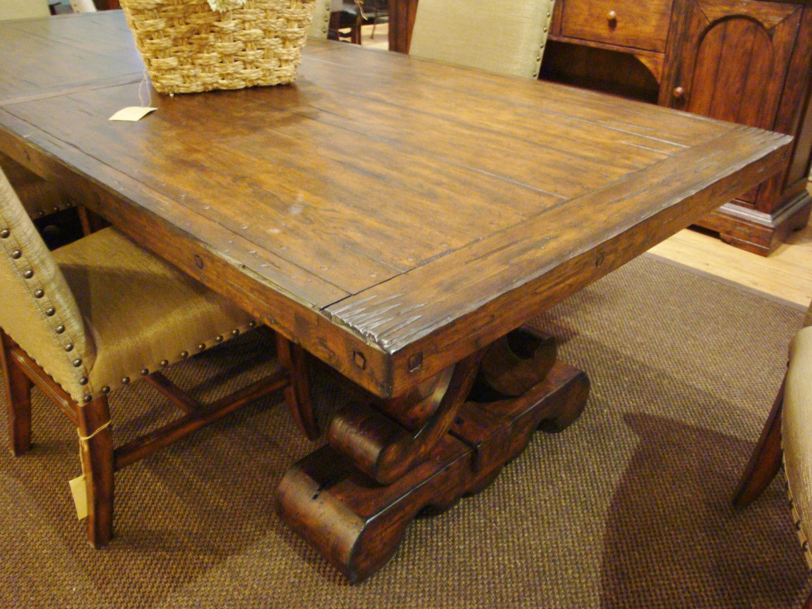 Sienna Extension Dining Table Spanish Style Dining Table ...