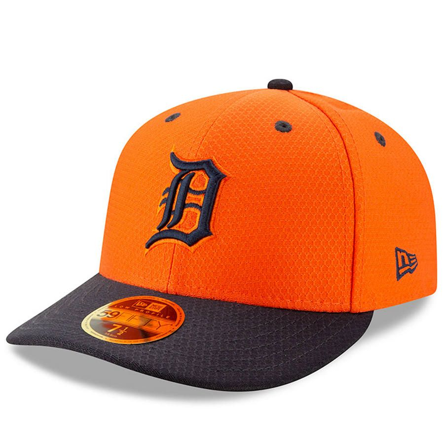super popular f7421 cb01e Men s Detroit Tigers New Era Orange Navy 2019 Batting Practice Road Low  Profile 59FIFTY Fitted Hat, Your Price   37.99
