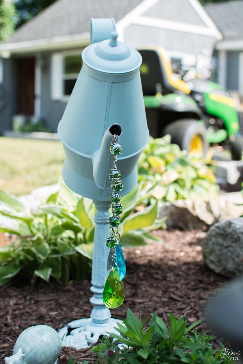DIY garden decor | Upcycled & Repurposed garden decor | Spray ...