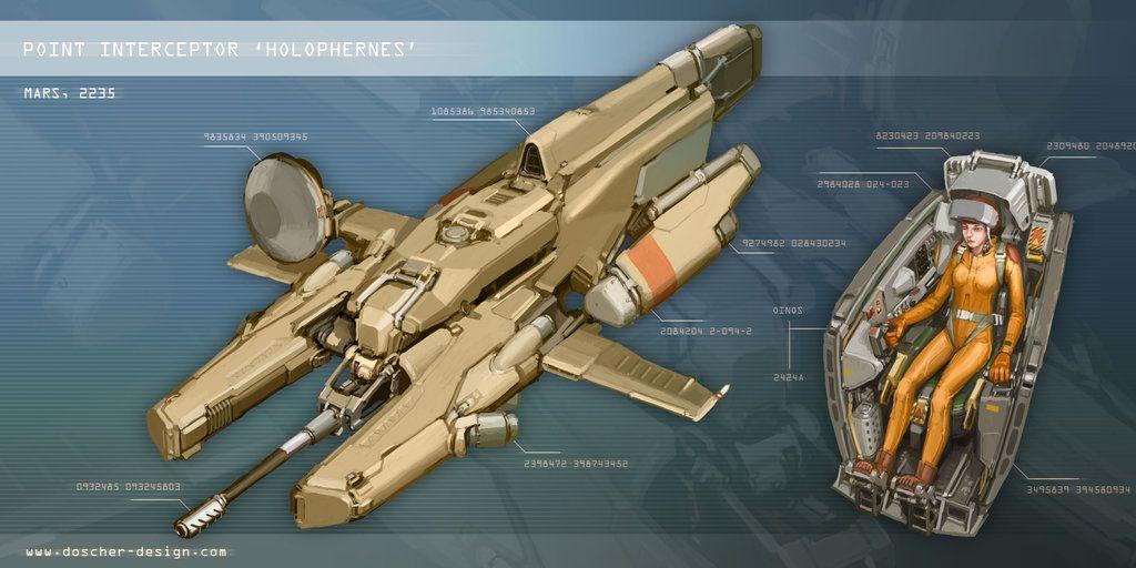 Point Interceptor 'Holophernes' by MikeDoscher
