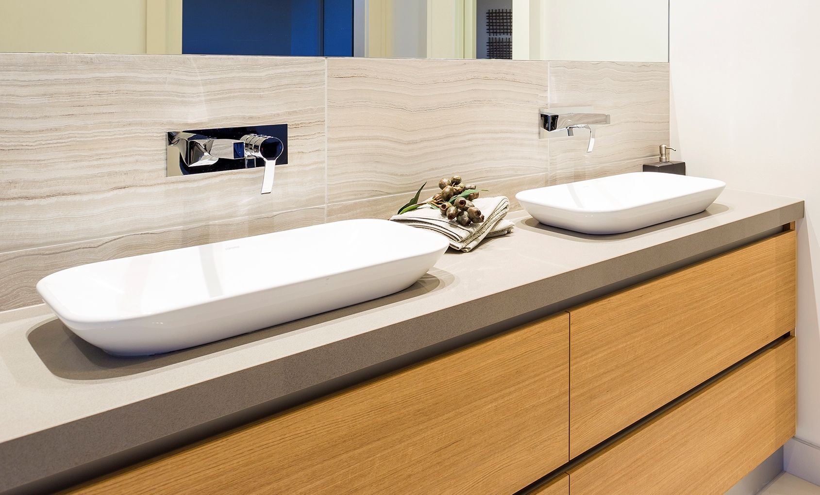 Ensuite in the Warralily Coast Display Home by Pivot Homes. Caroma ...