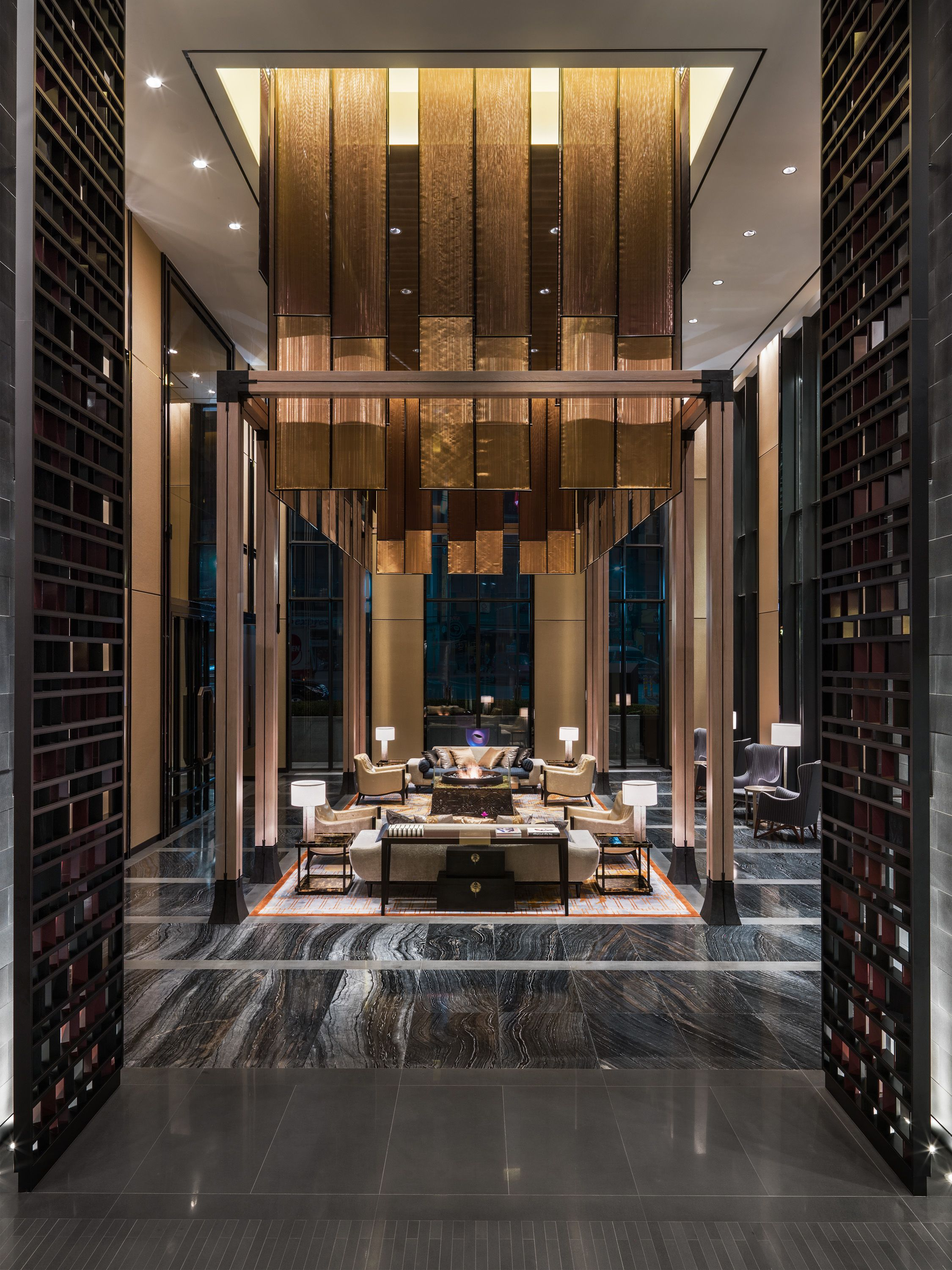 Modern hotels four seasons hotel seoul design by ltw for Modern hotel decor