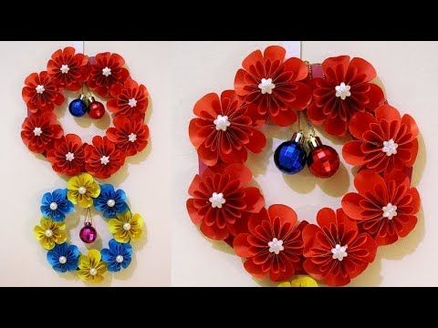 Wall decorations with colour paper   Craft Ana   Pinterest   Paper ...