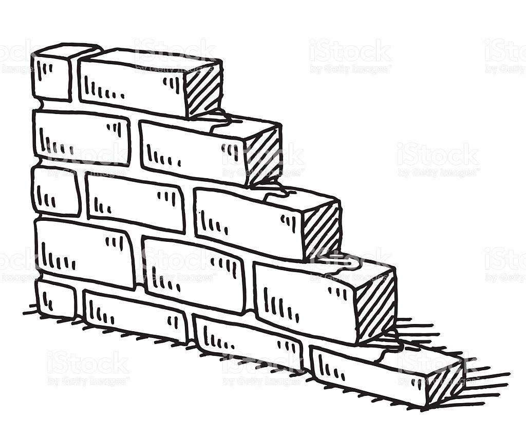 Resultado de imagen para DIBUJO PARA COLOREAR ladrillos | CLIP ...