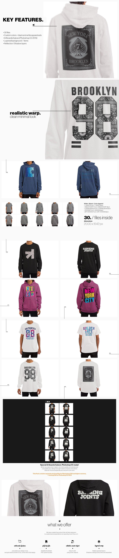 Download T Shirt Longsleeve Sweatshirt Hoodie Mockup By Bangingjoints On Envato Elements Hoodie Mockup Sweatshirts Hoodie Sweatshirts