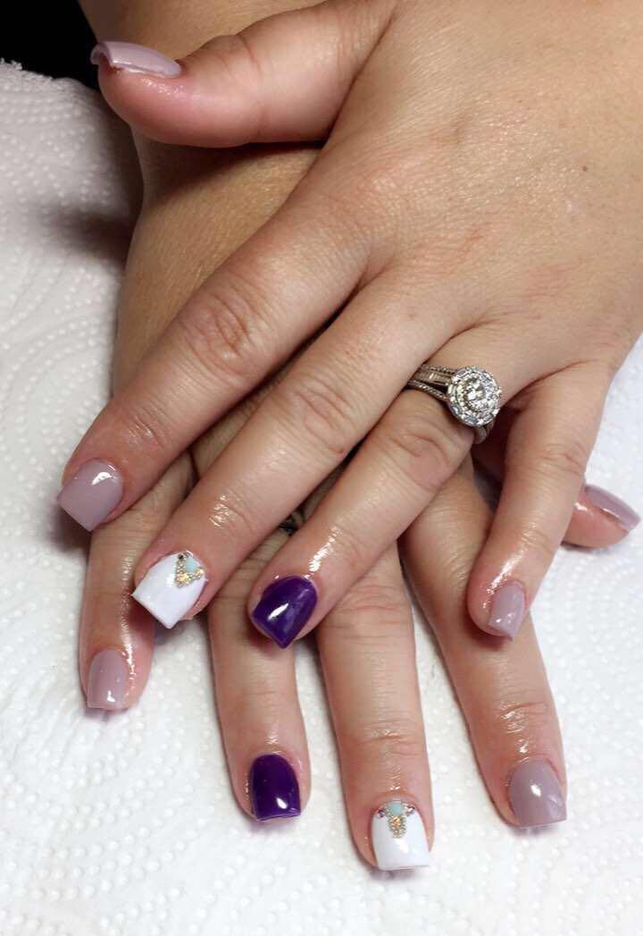 Full Set Acrylic Hands 35 Pedicure Nail Art Full Set Acrylic Pedicure Nails