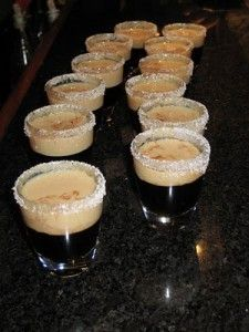 Jelly Donut Shot: Chombard & Baileys | Booze | Baileys ...