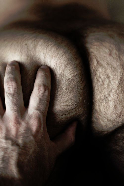 Mens hairy anus photos