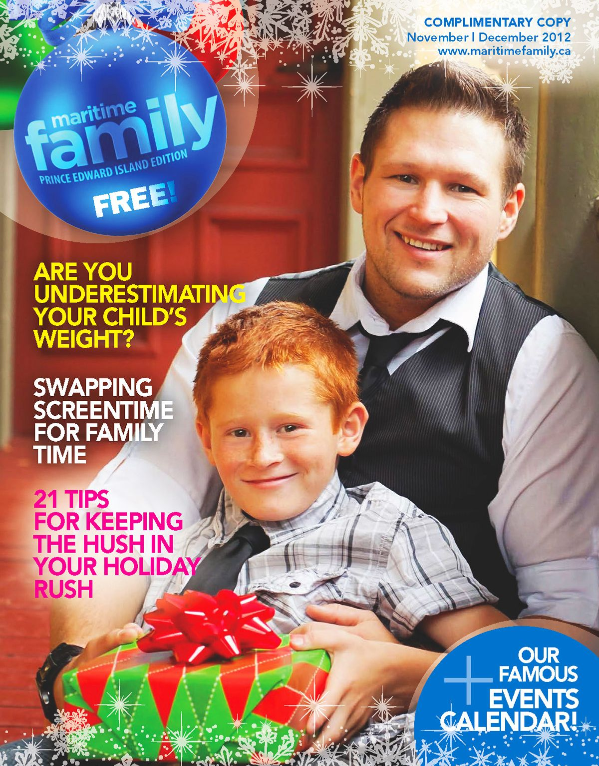 Here Comes The Holiday Articles This Time A Cover Mention