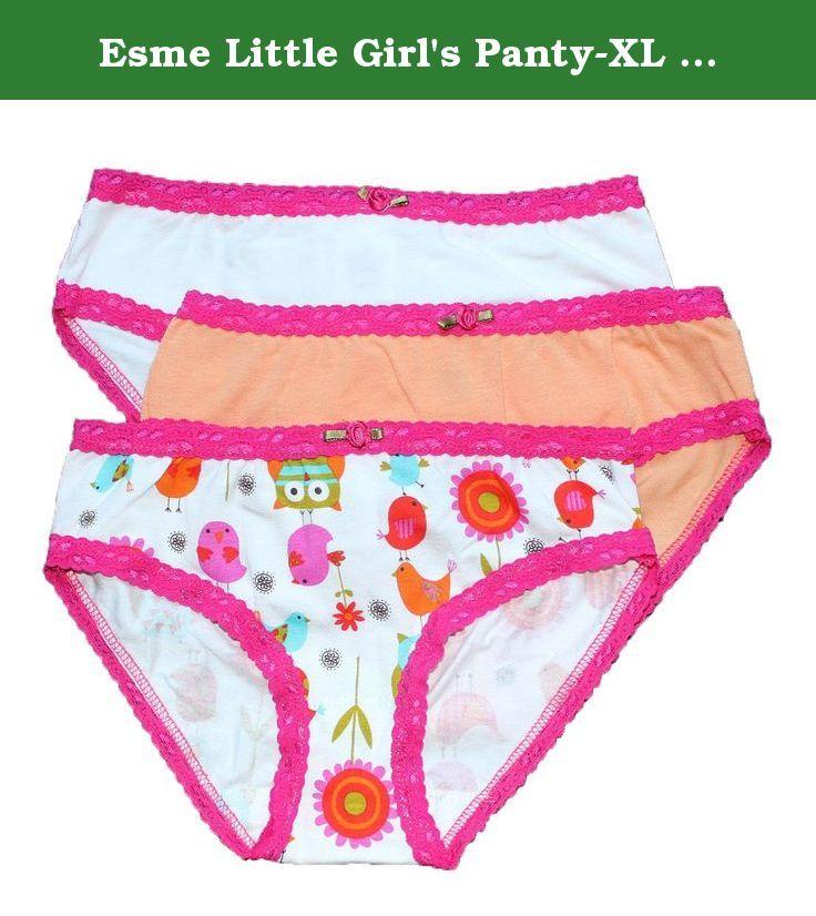 5ce17b497f1ac7 Esme Little Girl's Panty-XL 10-12- Bird Owls. Little Girls the most  Comfortable Cute Underwear Panties, pack of 3. Esme Girls underwear are the  most ...