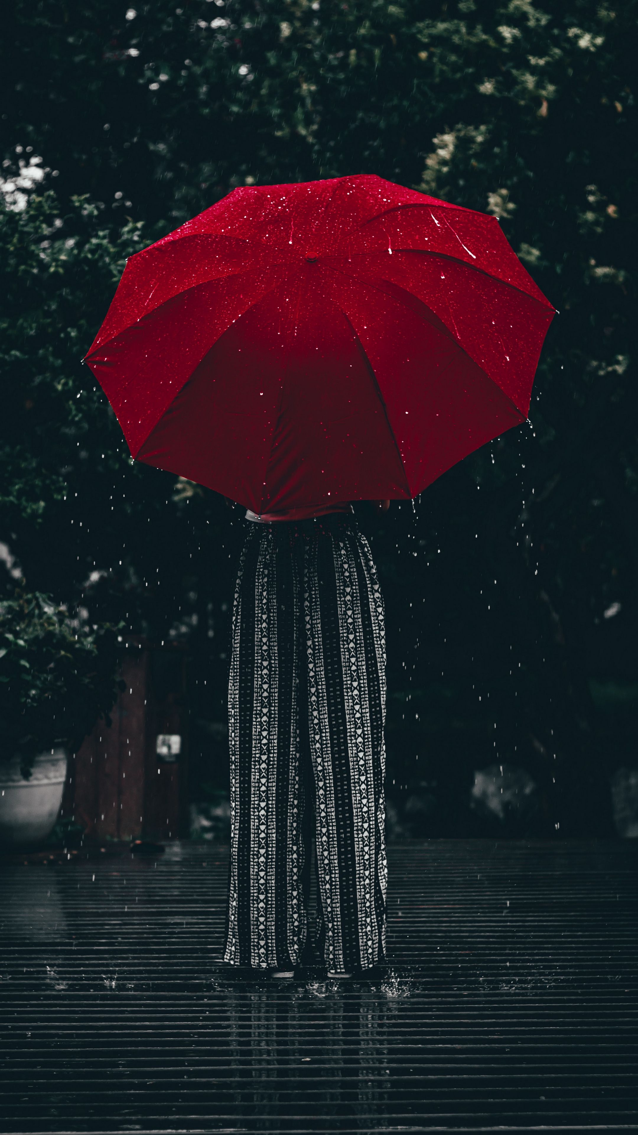 Emotions Umbrella Red Girl Android Wallpapers 4k Hd Red Umbrella Umbrella Photography Rain Wallpapers