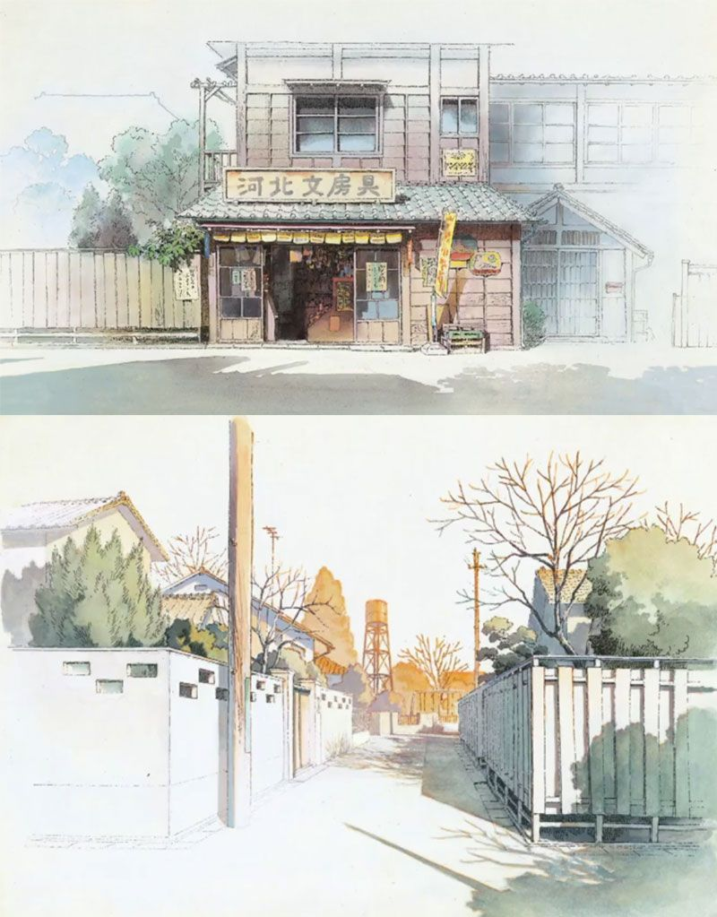 6 Anime Backgrounds Landscape Design Reference In 2020 Anime Background Concept Art Anime Scenery