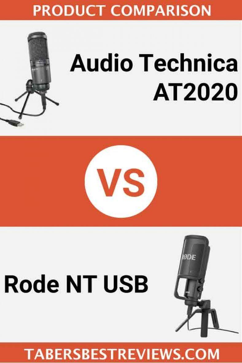 Audio Technica At2020 Vs Rode Nt Usb Head To Head Comparison Audio Technica Usb Microphone Best Usb Microphone