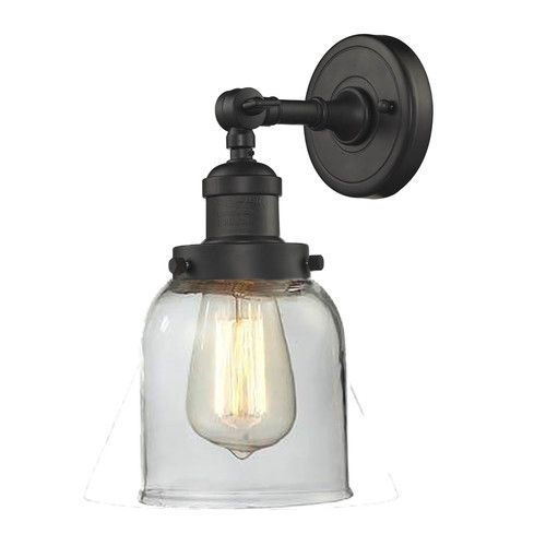 Gotha 1 Light Armed Sconce In 2020 Farmhouse Wall Sconces