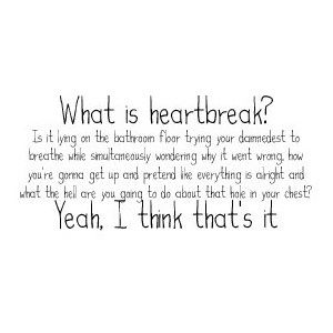 Heartbroken why does your breakup hurt so much
