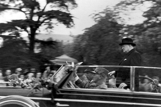 René Burri Winston Churchill