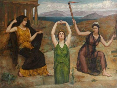 loumargi | Hekate, Goddess of the underworld, Hecate