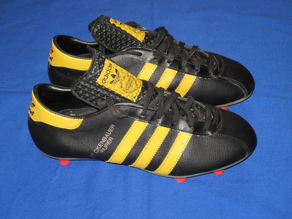 2f55b1dafb2 adidas BECKENBAUER SUPER rare vintage football boots 70`s YUGOSLAVIA uk 5  in Sporting Goods