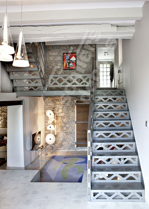 Photo dt94 escadroit 2 4 tournants avec palier for Escalier avec palier intermediaire