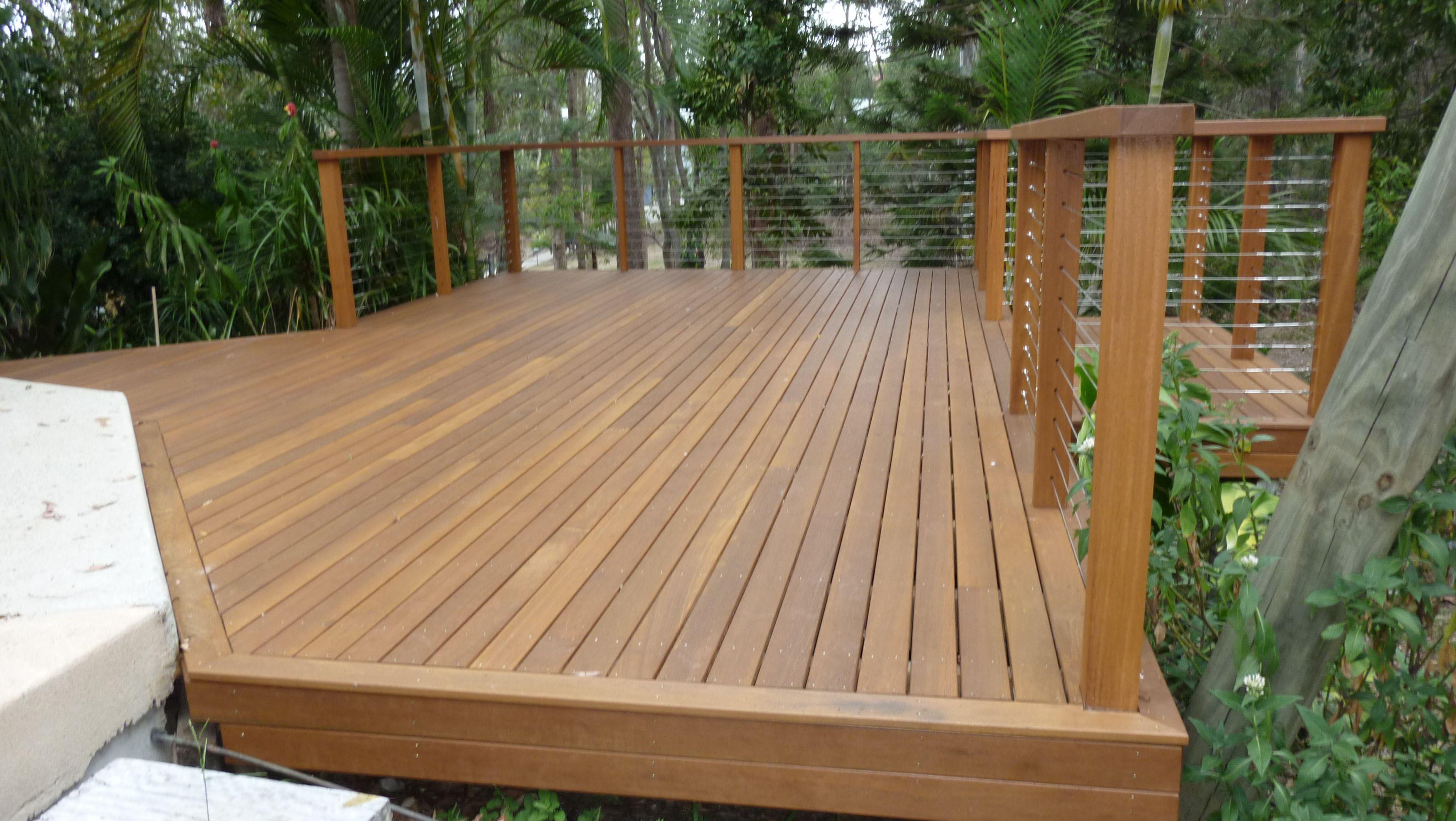Timber Deck Design, Deck Builders Brisbane Timber Balustrade ...