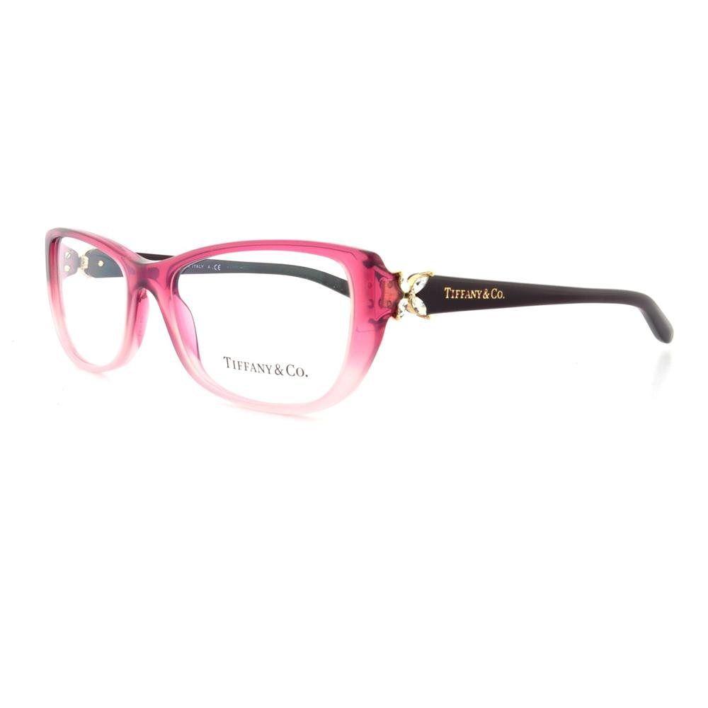 Pink Tiffany Eyeglass Frames | TIFFANY Eyeglasses TF 2044B 8109 ...