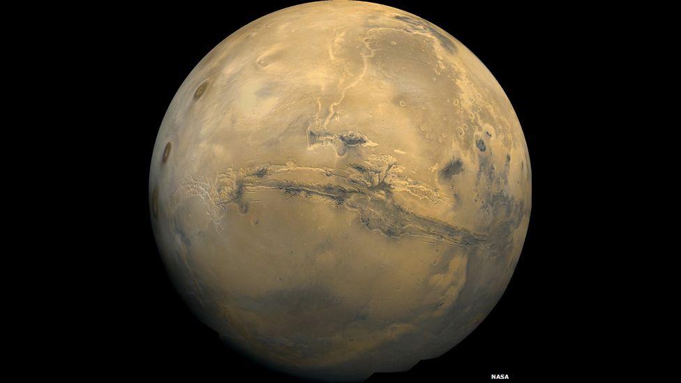 Valles Marineris, Grand Canyon de Marte