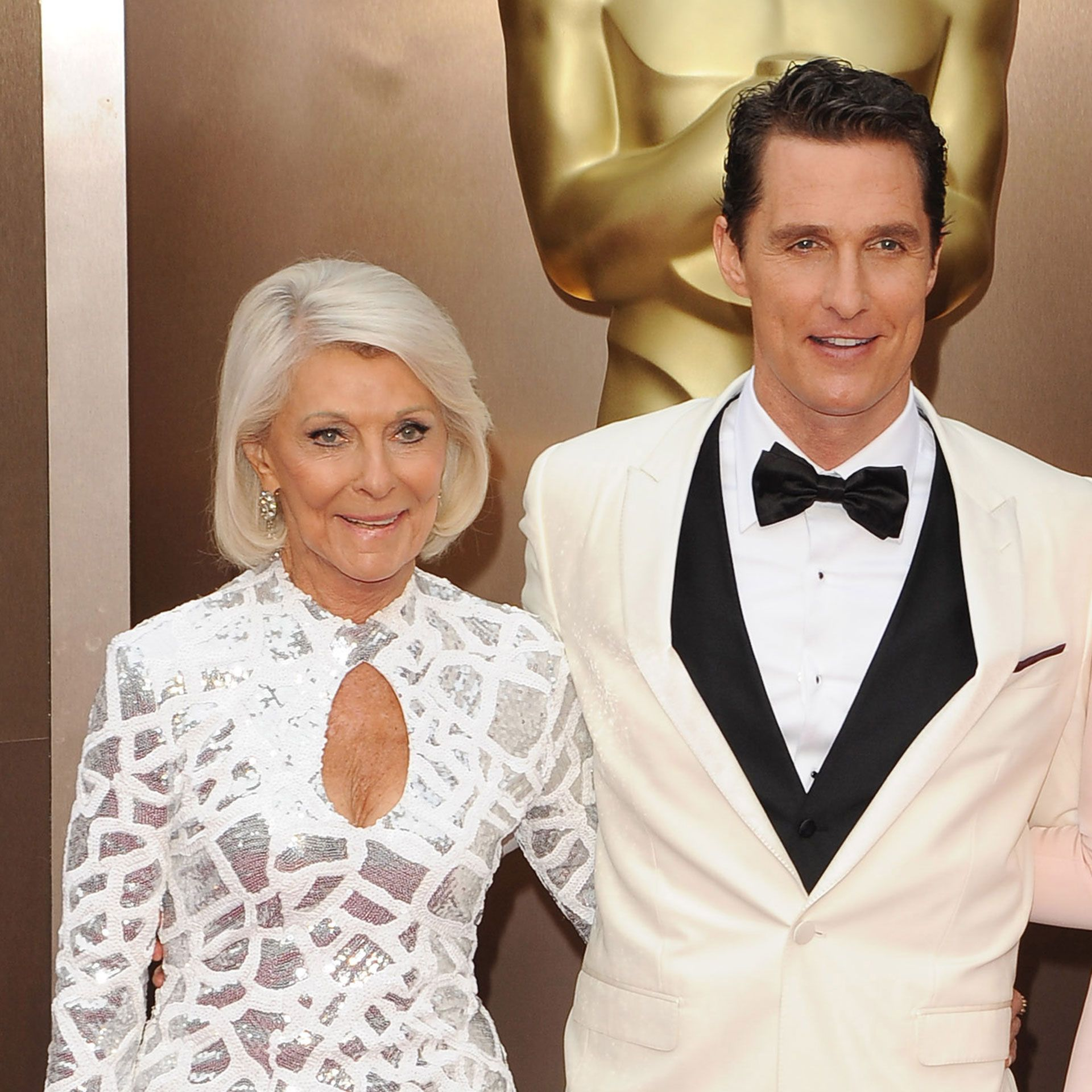 Photo of Rooster Mcconaughey  & his  Mother  Mary Kathlene McCabe