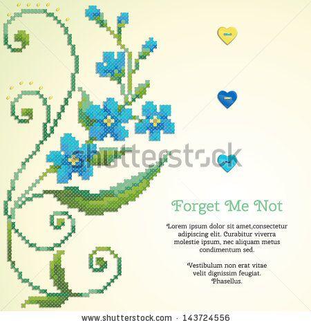 floral cross stitch patterns - Google'da Ara