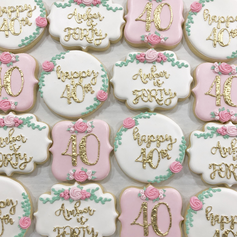 Park Art My WordPress Blog_40th Birthday Cookies For Him