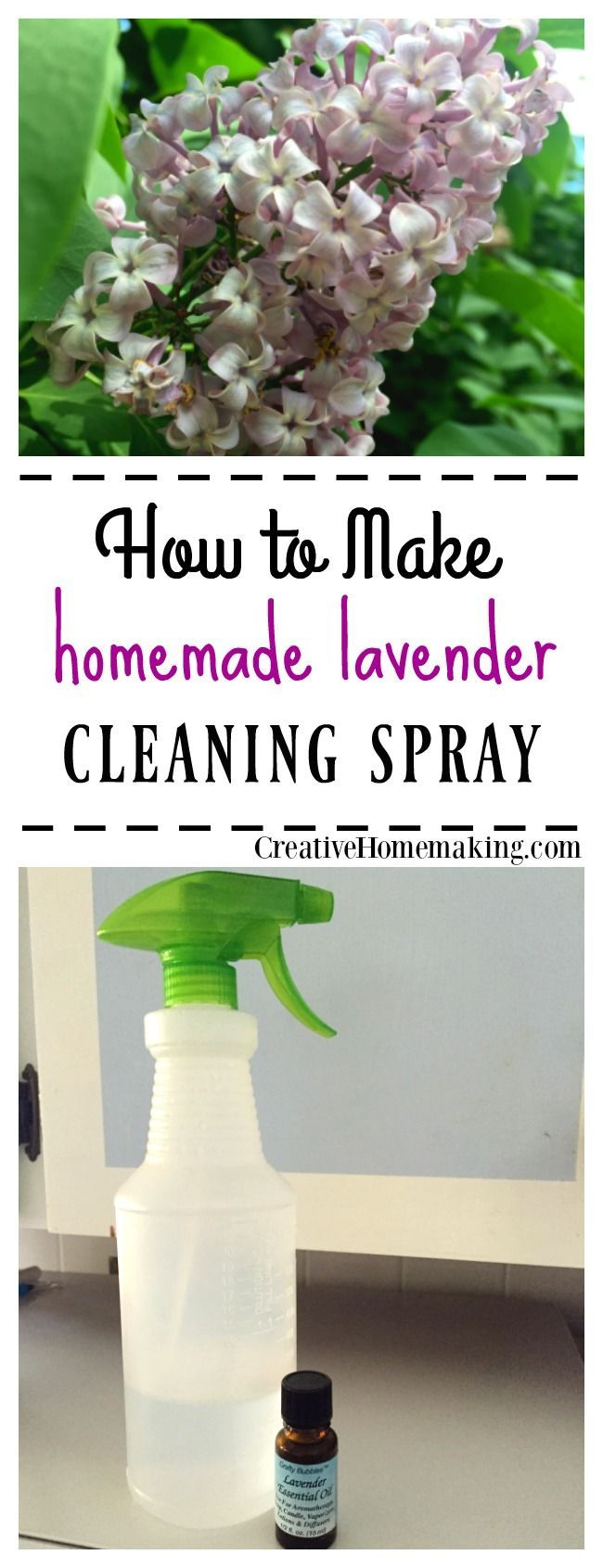 All Natural Lavender Household Cleaning Spray | #Recipe ...
