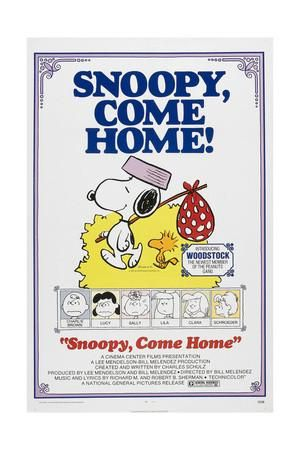 Snoopy Come Home Art Print At Art Com Snoopy Charlie Brown