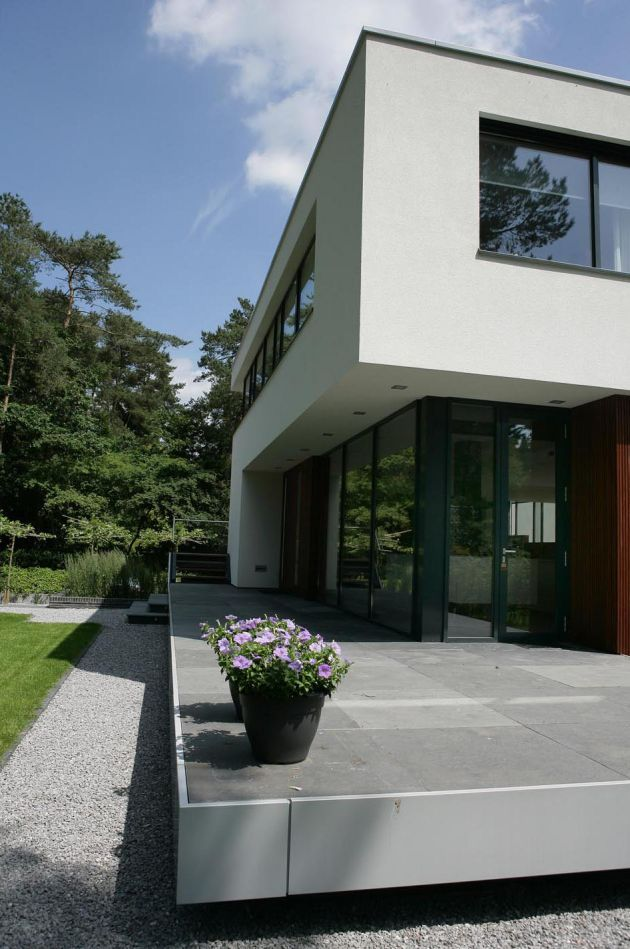 House In Bosch En Duin By Maas Architects Dutch Design Style - House-in-bosch-en-duin-by-maas-architects