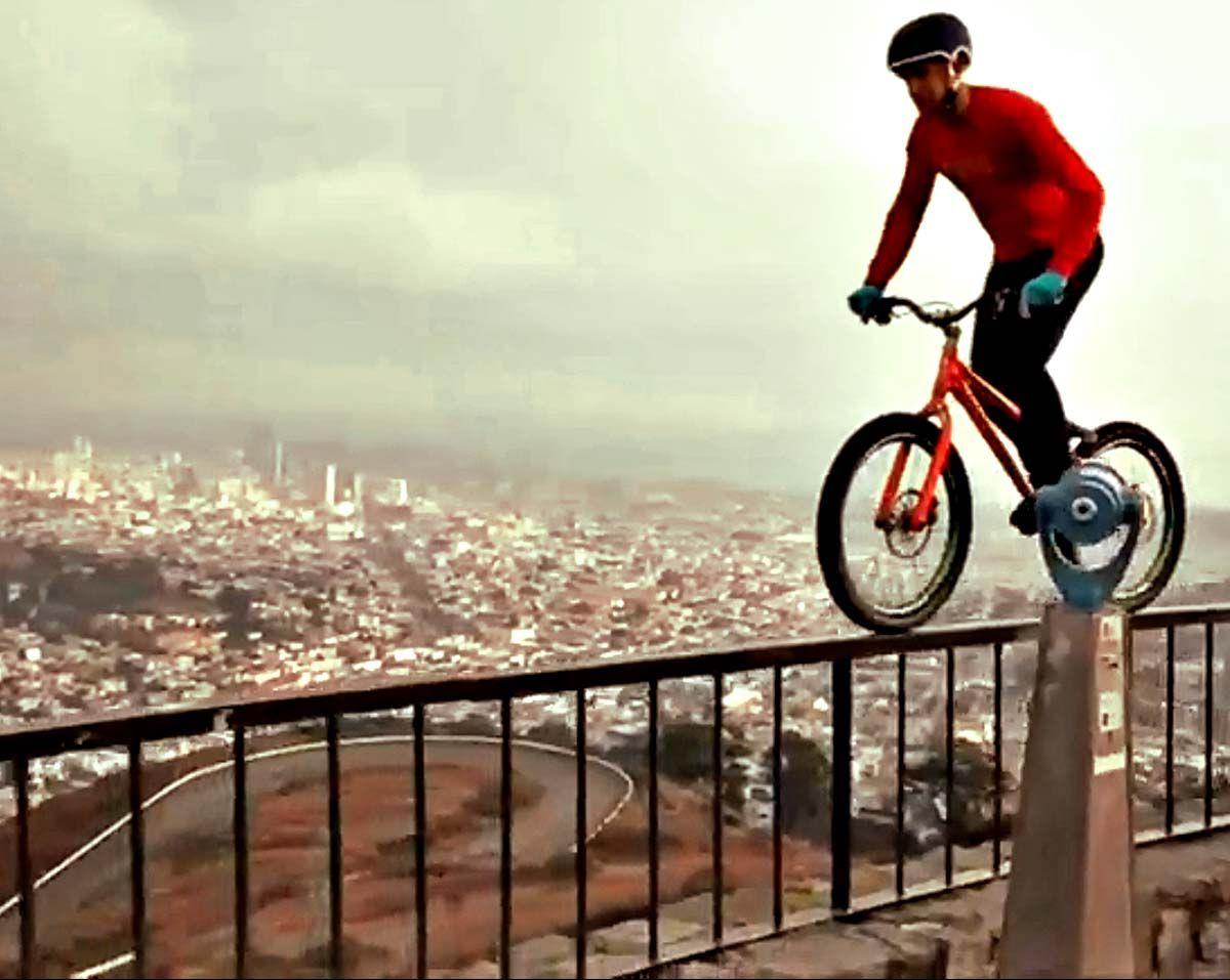 Danny Macaskill Trial Bike Bmx Trials